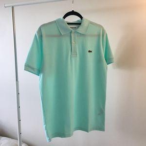Lacoste Men's Polo Classic Fit. Size 5 Mint